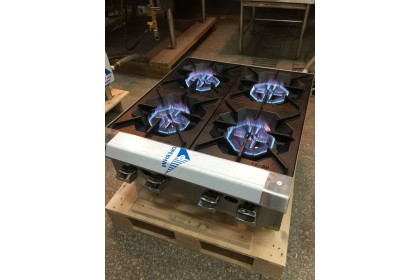 NEWWAY Counter Top Gas Hot Plate / Burner Cooktops - NWHP