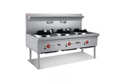 NEWWAY Compact Single Wok Range With Jet Burner - NW-B
