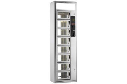 BRAIMEX Snack-o-Matic Automat Hot Food Vending Machine - S340
