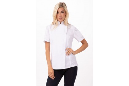 WOMEN SPRINGFIELD CHEF COAT - BCWSZ006