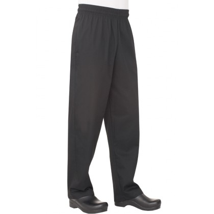 ESSENTIAL BAGGY PANTS - BLACK - NBBP-BLK