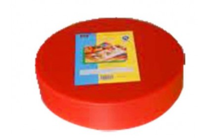 DUO SIZE PP ROUND CUTTING BOARD (RED) - CPRCB-RD